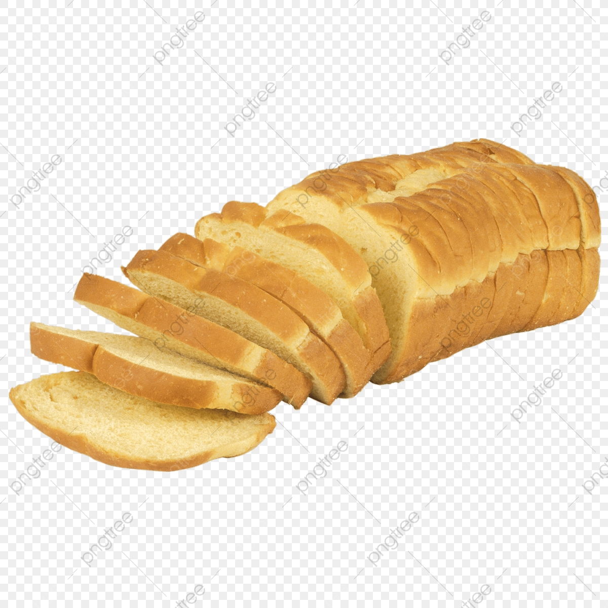 Bread Slice, Bread, Food PNG Transparent Clipart Image and PSD File.