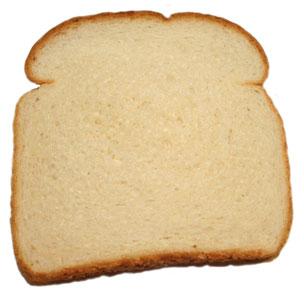 Slice Of Bread Clipart Black And White.