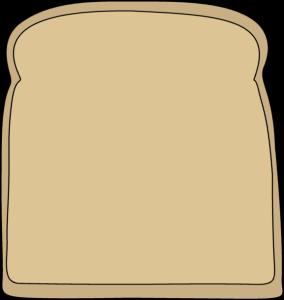 Bread slices clipart.