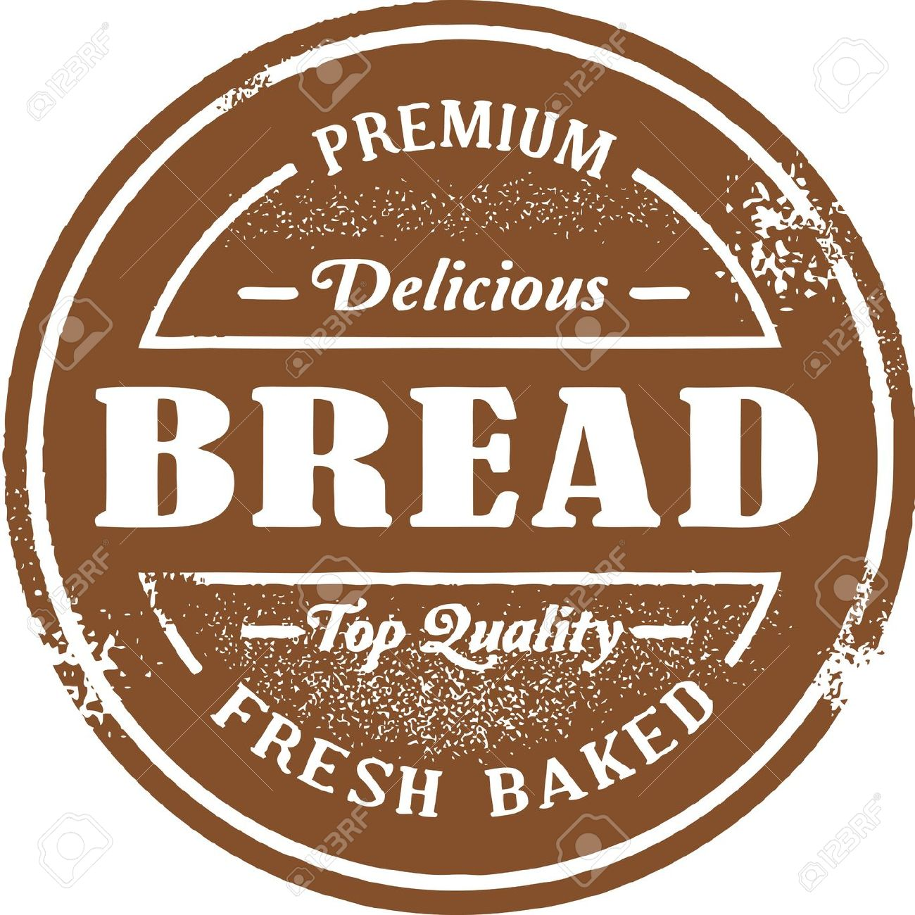 Fresh Baked Bread Stamp Royalty Free Cliparts, Vectors, And Stock.
