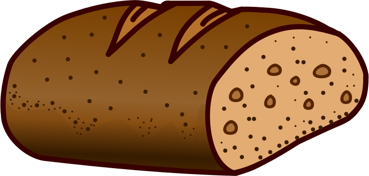 Wheat Bread Clipart.