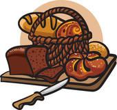 Bread Basket Clip Art.