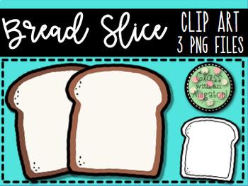 Bread Slice Clip Art.