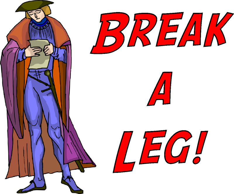 Download Free png break legs theatre clipart.