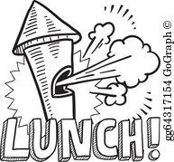 Lunch Break Clip Art.