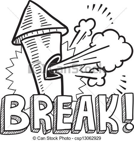 Break clipart #7