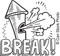 Break clipart #18