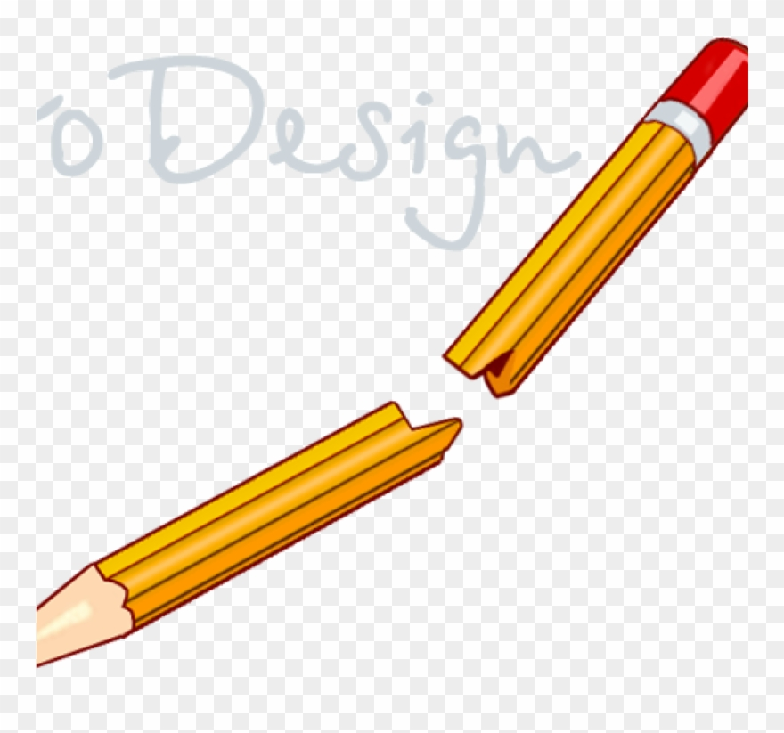 Pencils clipart break, Pencils break Transparent FREE for.