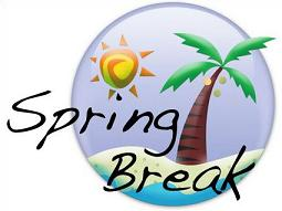 Free Spring Break Clipart.