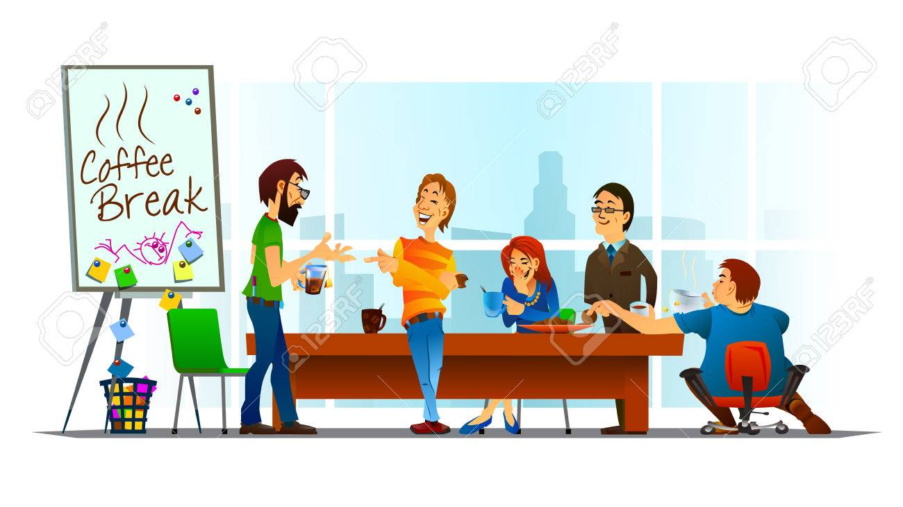 Collection of 14 free Break clipart office coffee bill clipart.