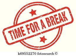 Break Time Clipart Vectors.