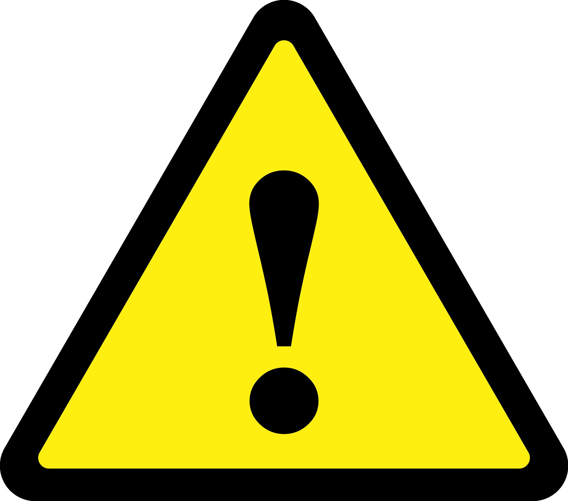 Warning Triangle.