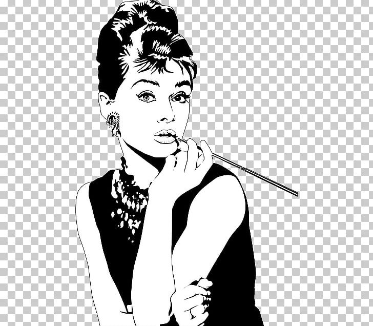 Audrey Hepburn Breakfast At Tiffany's Holly Golightly PNG, Clipart.
