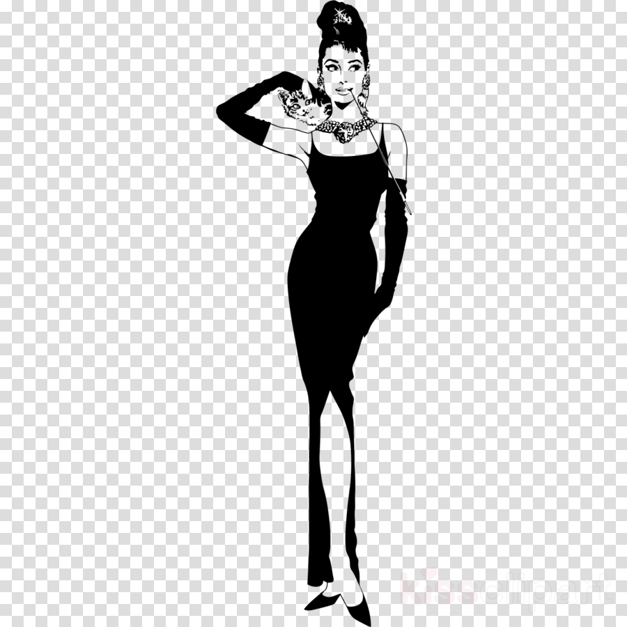 Download audrey hepburn breakfast at tiffany poster clipart.