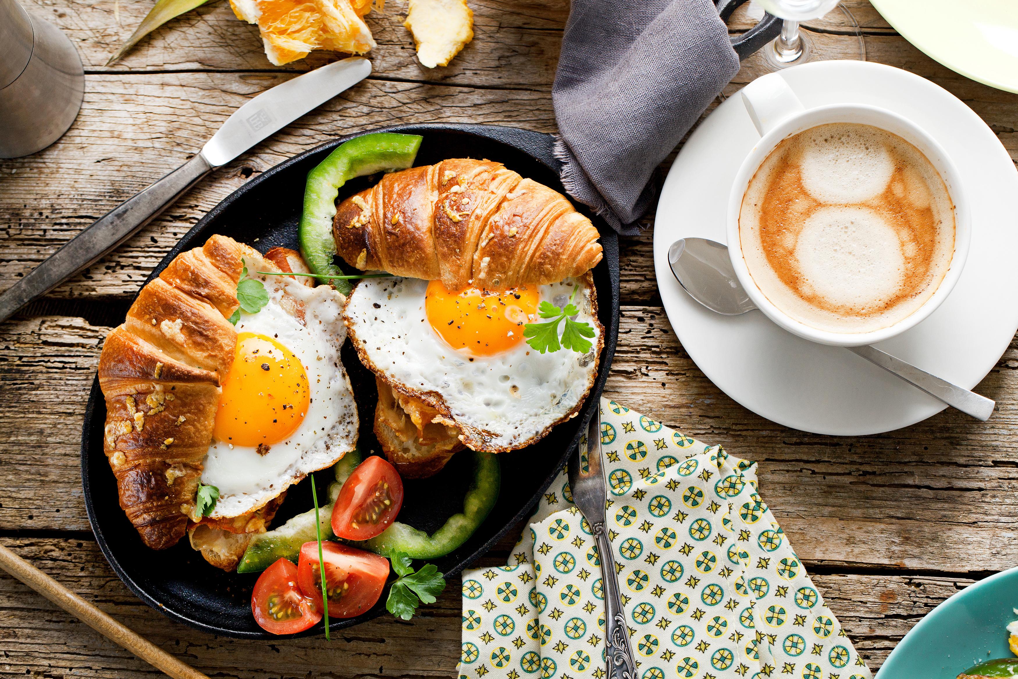 Rich Breakfast Background.