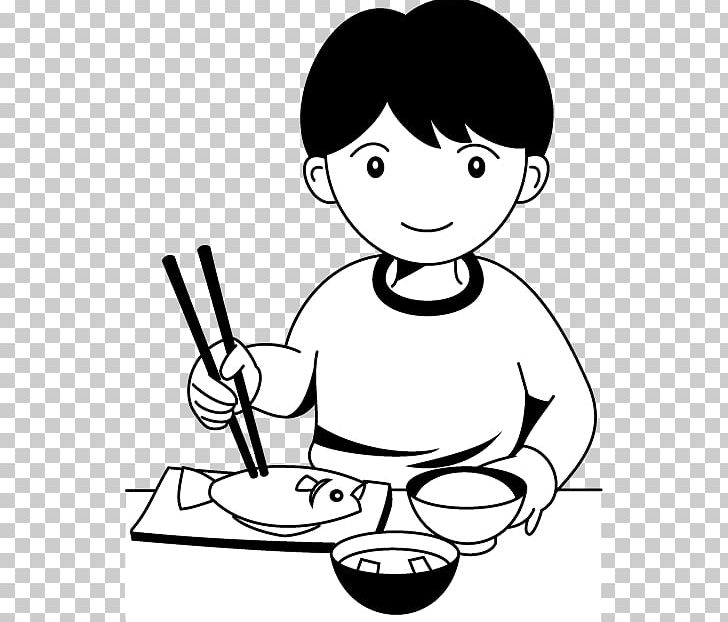 Eating Breakfast Dinner Food PNG, Clipart, Arm, Art, Black.