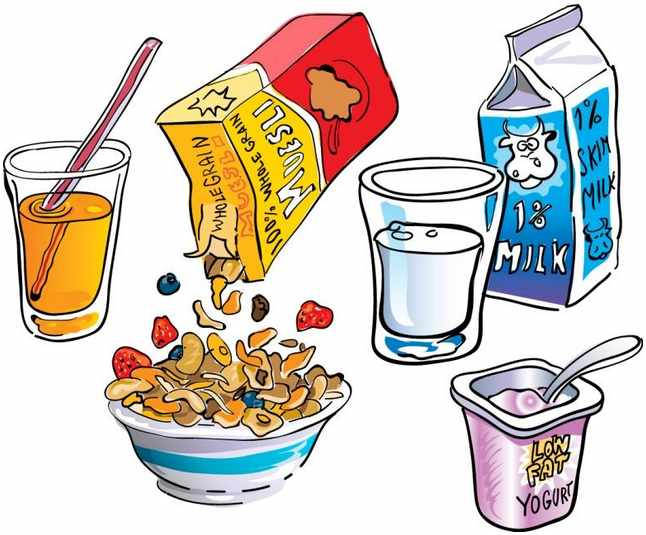 Breakfast clip art borders free clipart images.