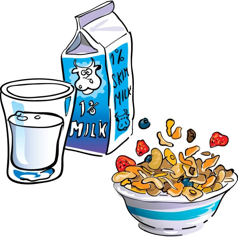 Preschool Breakfast Clipart.