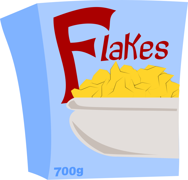 Breakfast & Popcorn Clipart.