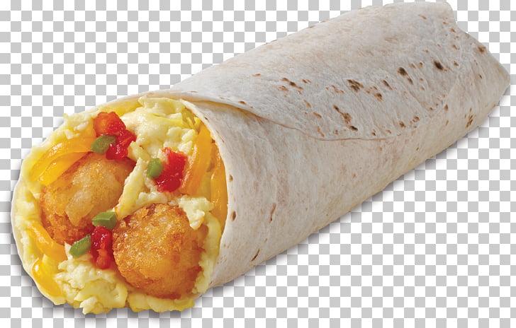Wrap Burrito Mexican cuisine Taquito Breakfast, burrito PNG.