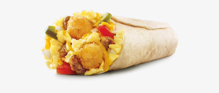 Breakfast Clipart Burrito.