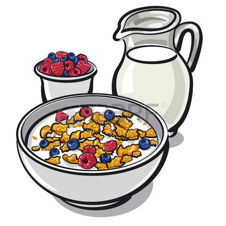 3,917 Breakfast Cereal Cliparts, Stock Vector And Royalty Free.