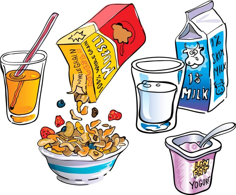 Breakfast cereal clipart.