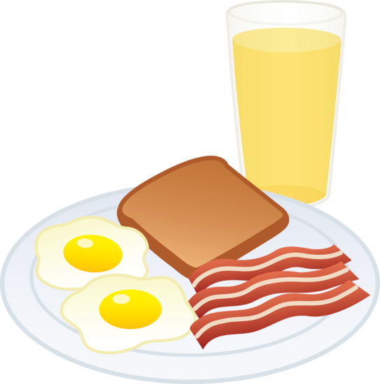 Breakfast food clip art.