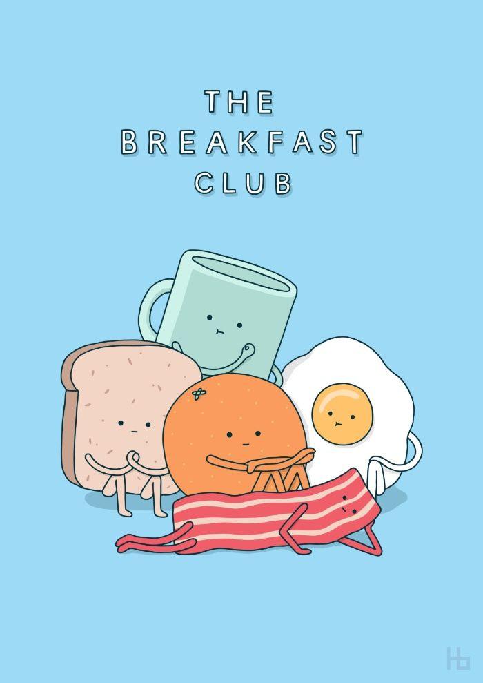 The Breakfast Club Art Print.