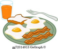 Breakfast Food Clip Art.