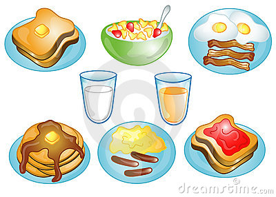 Breakfast food clipart 4 » Clipart Station.