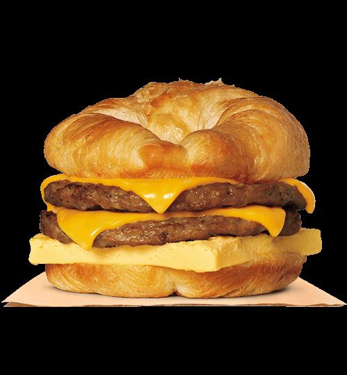 BURGER KING® Ham, Egg, Cheese Croissan_wich.
