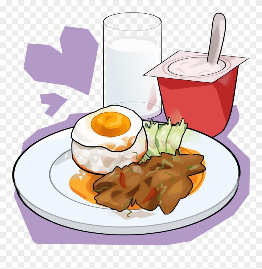 Breakfast Transparent Food Tumblr Cartoon Clipart Png (#3642592.