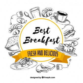 Breakfast Vectors, Photos and PSD files.