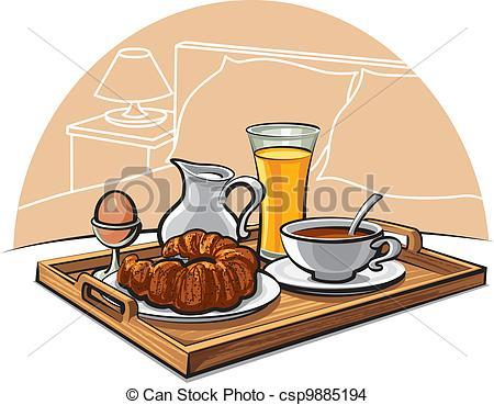 Breakfast in bed clipart 1 » Clipart Portal.