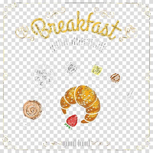 Breakfast Menu Template, Hand drawn Breakfast transparent.