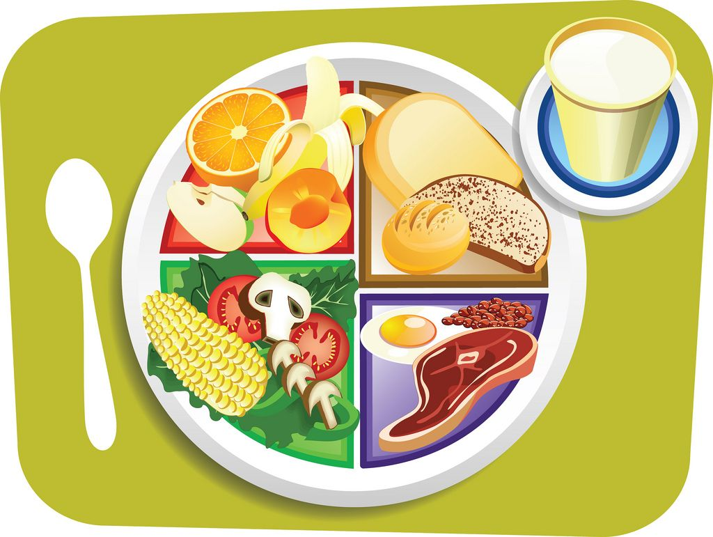 alt=Clipart of breakfast plate title=Clipart of breakfast plate.