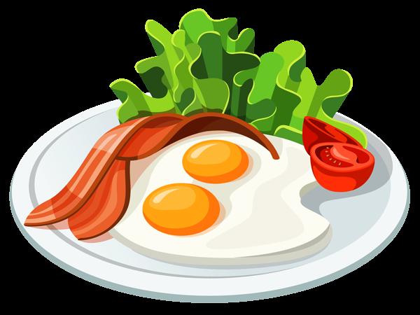 Breakfast Plate free clipart.