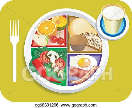 Breakfast plate clipart 6 » Clipart Portal.