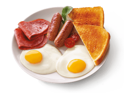Full breakfast PNG Images.