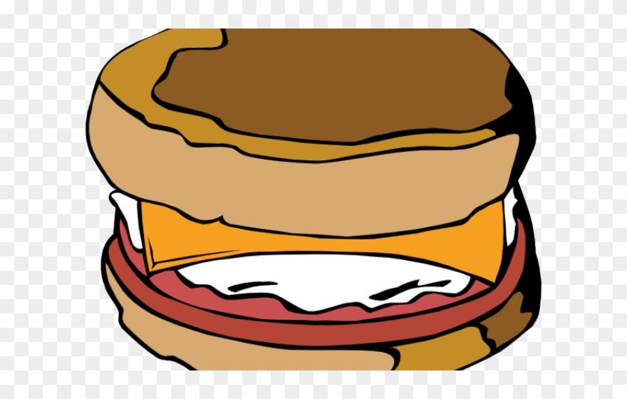 Sandwich Clipart Breakfast Sandwich.