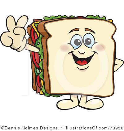 170 Sandwich Clipart.