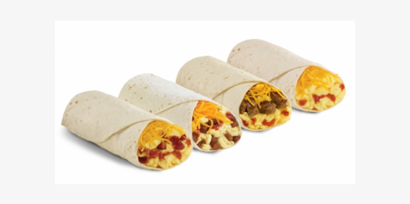 Del Taco Breakfast Burrito.