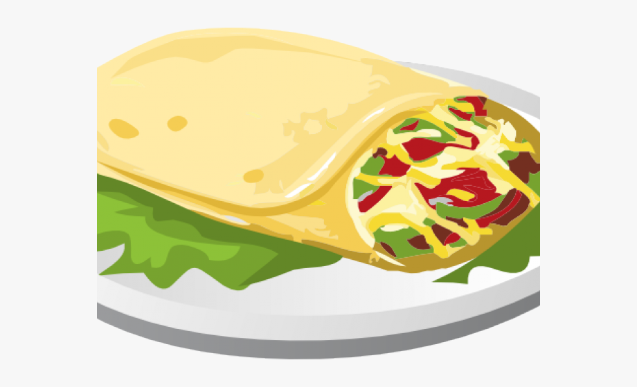 Kebab Clipart Breakfast Taco.