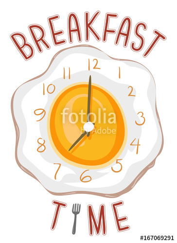 Breakfast clipart breakfast time, Breakfast breakfast time.