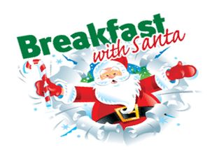 Free Clipart Of Breakfast With Santa.