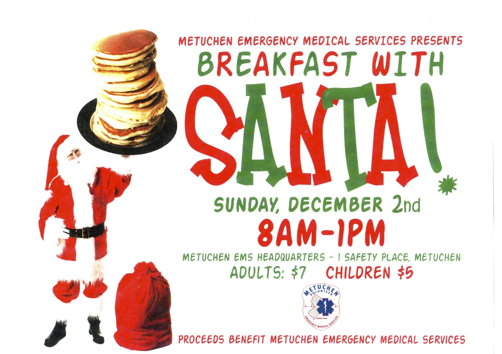 Showing post & media for Breakfast with santa fundraiser flyer.