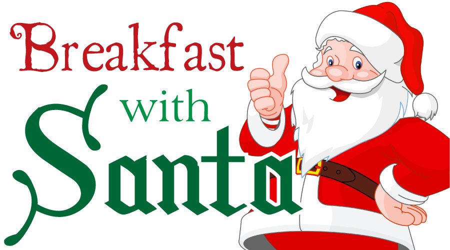 Breakfast with Santa.