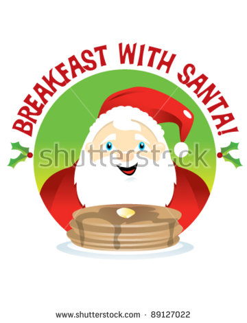 Breakfast With Santa Stock Photos, Royalty.