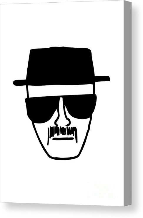 Heisenberg Breaking Bad Canvas Print.